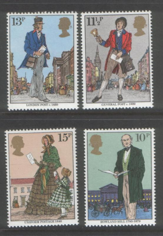 Great Britain 1979 Sir Rowland Hill (4) Scott #871-874
