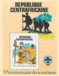 CENTRAL AFRICAN REPUBLIC Sc#501 Souvenir Sheet MINT NEVER HINGED