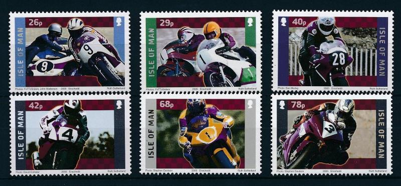 [25178] Isle of Man 2005 Sport Motorcycle Motorracing Yamaha MNH