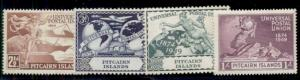PITCAIRN ISLANDS #13-16 Mint Hinged, Scott $14.80