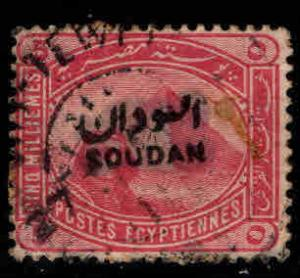 SUDAN Scott 4 Used stamp