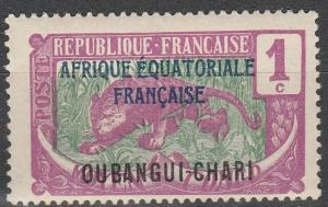 Ubangi-Chari #41 F-VF Unused (V3111)