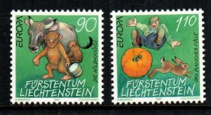 Liechtenstein  1097 - 1098  MNH cat $ 4.00