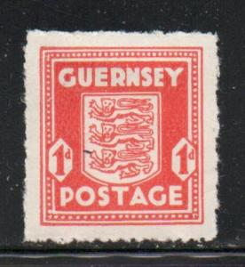 Guernsey Sc N2 1941 1d German Occupation stamp mint
