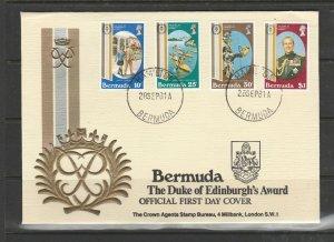 Bermuda 1981 Duke of Edinburgh FDC, Illus, Crown agents address