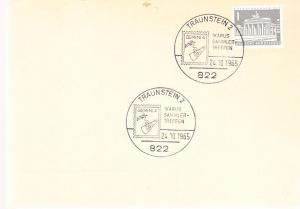 Germany - Gemini 4 Cancel - Traubenstein 10-24-65