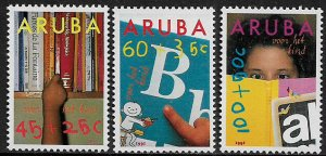 Aruba #B24-6 MNH Set - Child Welfare
