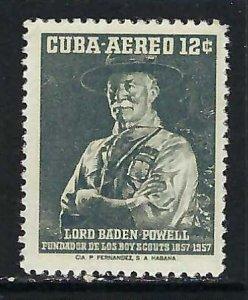 CUBA C152 MNH SCOUTS R38