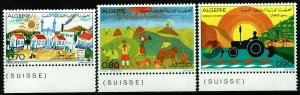 Algeria #515-17  MNH - Children's Drawings (1974)