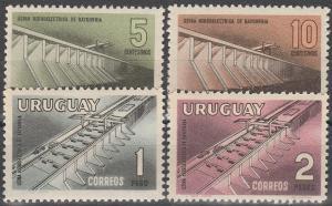 Uruguay #633-6 MNH F-VF  CV $4.25  (SU7023L)