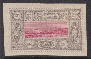 SOMALIE COAST^^^^^^^1894  YVERT# 18 mint NG IMPERF CLASSIC $165.00@ dccc340soma