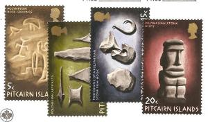 Pitcairn Is.  Scott #119-122  Mint NH  Scott CV $8.50