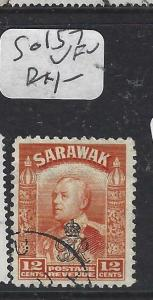SARAWAK  (P2704B)  BROOKE  ROYAL CYPHER 12C  SG 157  VFU