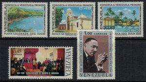 Venezuela #930-4* NH  CV $4.05