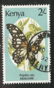 KENYA Scott 431 used Butterfly stamp