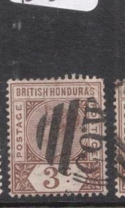 British Honduras SG 56, K65 Cancel VFU (9dhw)