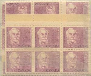Canada - 1963 5c Sir Casimir Gzowski X 100 mint #410