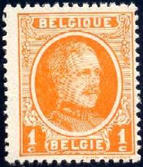 King Albert I, Belgium stamp SC#144 mint