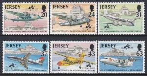 790-95 Airport Anniversary MNH