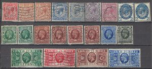 COLLECTION LOT OF #1080 GREAT BRITAIN 21 STAMPS 1912+ CLEARANCE CV + $49