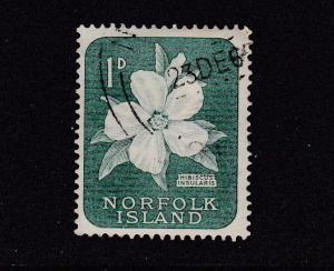 Norfolk Island 1960 Definitives 1d Used