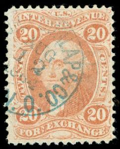 momen: US Stamps #R41c Revenue Used VF