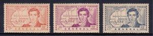 Senegal - Scott #188-190 - MNH - Toning - SCV $3.20