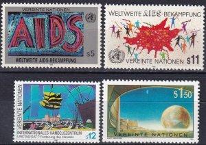 United Nations Vienna #97-100   MNH  CV $4.70  (V5112)