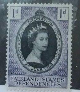 Falkland IslandsDependencies Scott #DE18*(1953)