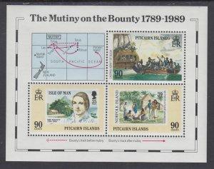 Pitcairn Islands 322 Souvenir Sheet MNH VF