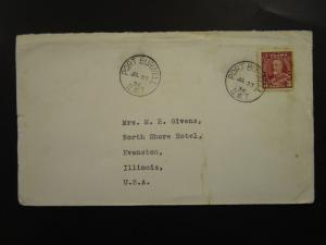 Canada 1936 Port Burwell NWT Arctic Cover to USA / Light Creasing - Z6202