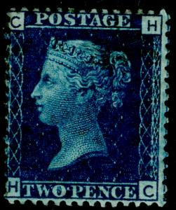 SG47, 2d dp blue PLATE 15, NH MINT. Cat £525+ HC
