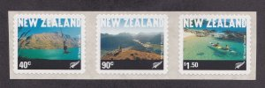 New Zealand # 1730a, Tourism Self Adhesives, NH, 1/2 Cat.