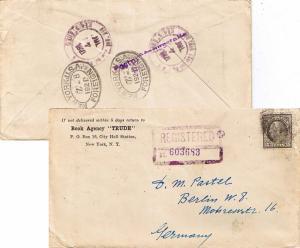 United States Washington Franklins 15c Washington Franklin 1921 New York, N.Y...