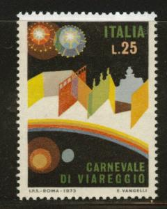 Italy Scott 1112 MNH** 1973 Carnival stamp
