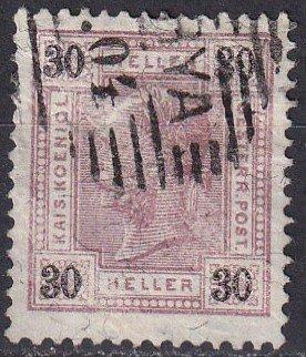Austria #78 F-VF Used  CV $2.75  (Z4824)