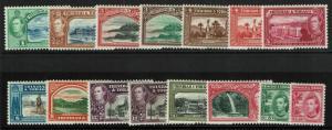 Trinidad & Tobago SG# 246 - 256 & 252a Mint Light Hinged /Few Hinge Rems - S6291