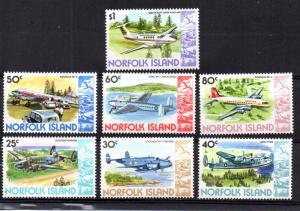 Norfolk Island 262A-268 MNH