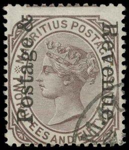 Mauritius Scott 123 Gibbons 162 Used Stamp