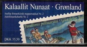 Greenland Scott 328b Mint NH booklet (Catalog Value $28.00)
