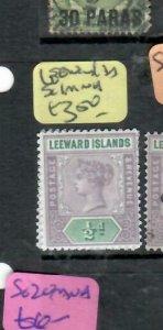 LEEWARD ISLANDS (P2308BB)  QV  1/2D  SG 1   MNH