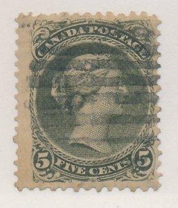 Canada Stamp Scott #26a, Used, 12x12 Perfs - Free U.S. Shipping, Free Worldwi...