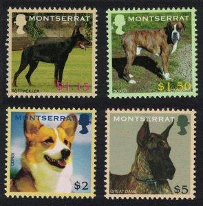 Montserrat Dogs 4v 2006 MNH SG#1321-1324