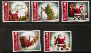 GIBRALTAR SG1483/7 2012 CHRISTMAS MNH