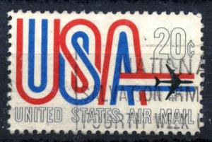 United States - SC #C75 - AIRMAIL USED - 1968 - Item USA096