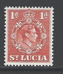 St. Lucia Sc # 112 mint hinged (RS)