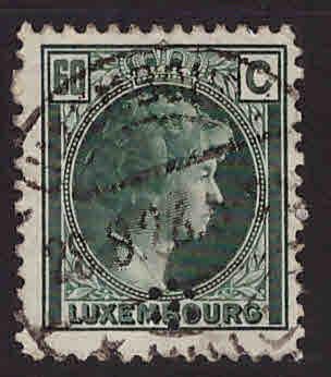 Luxembourg Scott 171 Used stamp