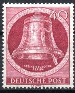 Germany Berlin 1951-1952 #9N79 VF Mint *Hinged/Unused* Bell Re-Engraved