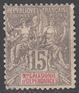 New Caledonia 48 Used (see Details) CV $1.50