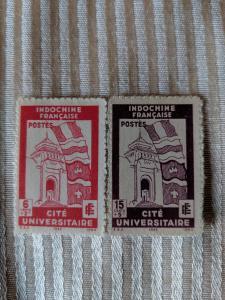 Indochina B20-1 VFLH, CV $2.50